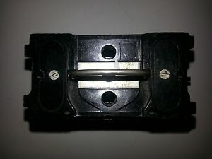 ge 60 amp fuse block with pull out trc 260 | ebay ge fuse box pull outs