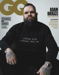 GQ Australia Magazine September October 2020 - Adam Briggs - NEW