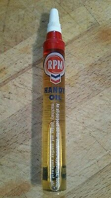 VINTAGE 1962 Seattle World/'s Fair STANDARD OIL RPM HANDY OIL TUBE SAMPLE
