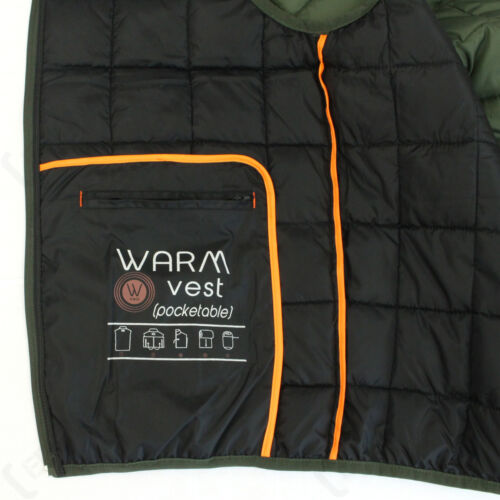 Body Warmer Waistcoat Outdoor Percussion Idaho Hunting Warm Gilet Vest Olive