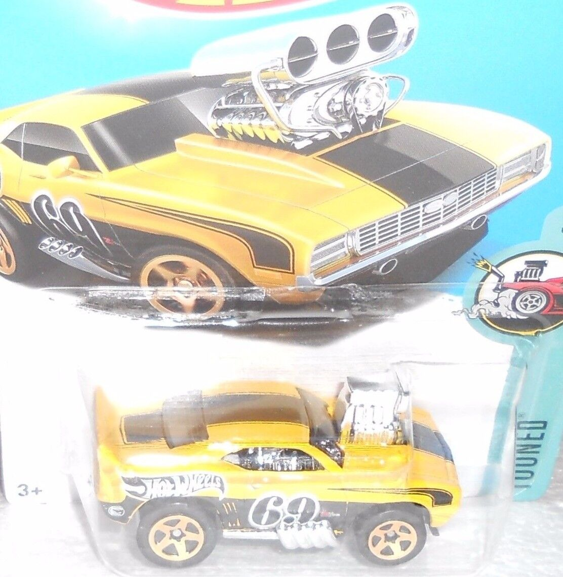 Hot Wheels (1) 2018 búsqueda del tesoro-Tooned -'69 Camaro Z28 (perfectas Condiciones)