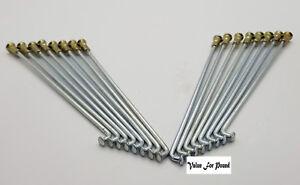 220 mm Gauge 8 Nipple Cap Moto Roue Rayons 5PC 36PC  </span>
