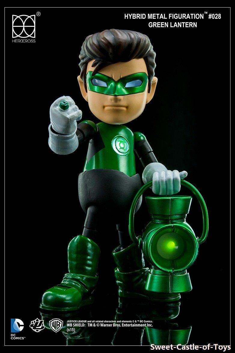 Green Lantern Herocross Figure Hybrid Metal HMF-028 Justice League Authentic 028