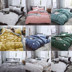 4pcs-Bedding-Set-Queen-Duvet-Cover-Set-Adult-Bed-Set-Man-Duvet-Flat-Sheet