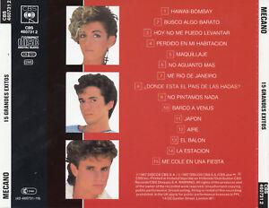 MECANO-034-15-GRANDES-EXITOS-034-RARE-HOLLAND-CD-ANA-TORROJA-CANO-NO-BARCODE