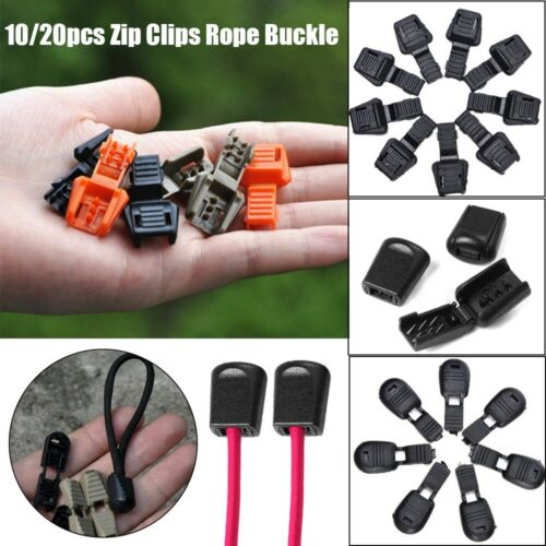 Cord Rope Pullers Ends Lock Zips Zipper Pull Clips Zip Puller Replacement