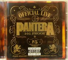 Pantera - Official Live:101 Proof (Live Recording) (CD 1997)