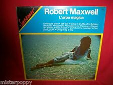 ROBERT MAXWELL L'arpa magica LP 1956 RE ITALY MINT-  Sexy Nude Cover