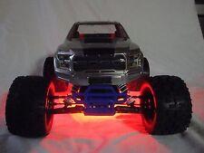 Traxxas Stampede Version 2, 24 Red LED light  (VXL / XL-5 / etc) Underglow Kit