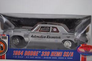 1:18 Autoroute 61 Supercar 1964 Dodge 330 Hemi S / A Dick Landy Rare