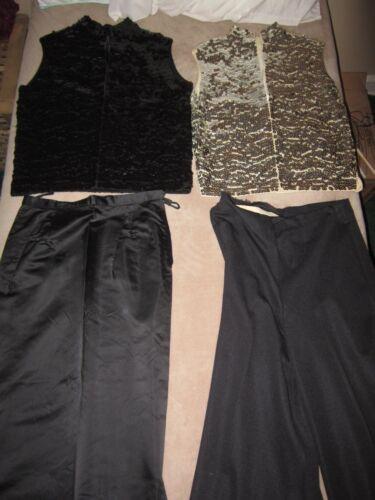 Donna Saks Kong Hong Avenue pantaloni Paillettes gonna Vintage Clothing Top Fifth SEExqrwUf