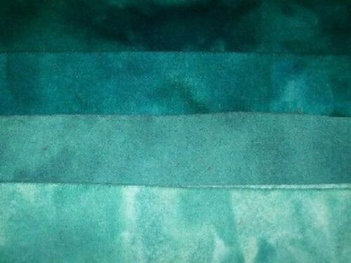 """1 /""""Russian Amazonite/"""" hand dyed rug hooking wool fabric Fat Quarter 100/% Wool"""