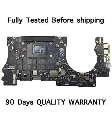 """Macbook Pro A1398 15/"""" 2013 2014 I7-4770HQ 16GB Logic Board 820-3662-A AS IS"""