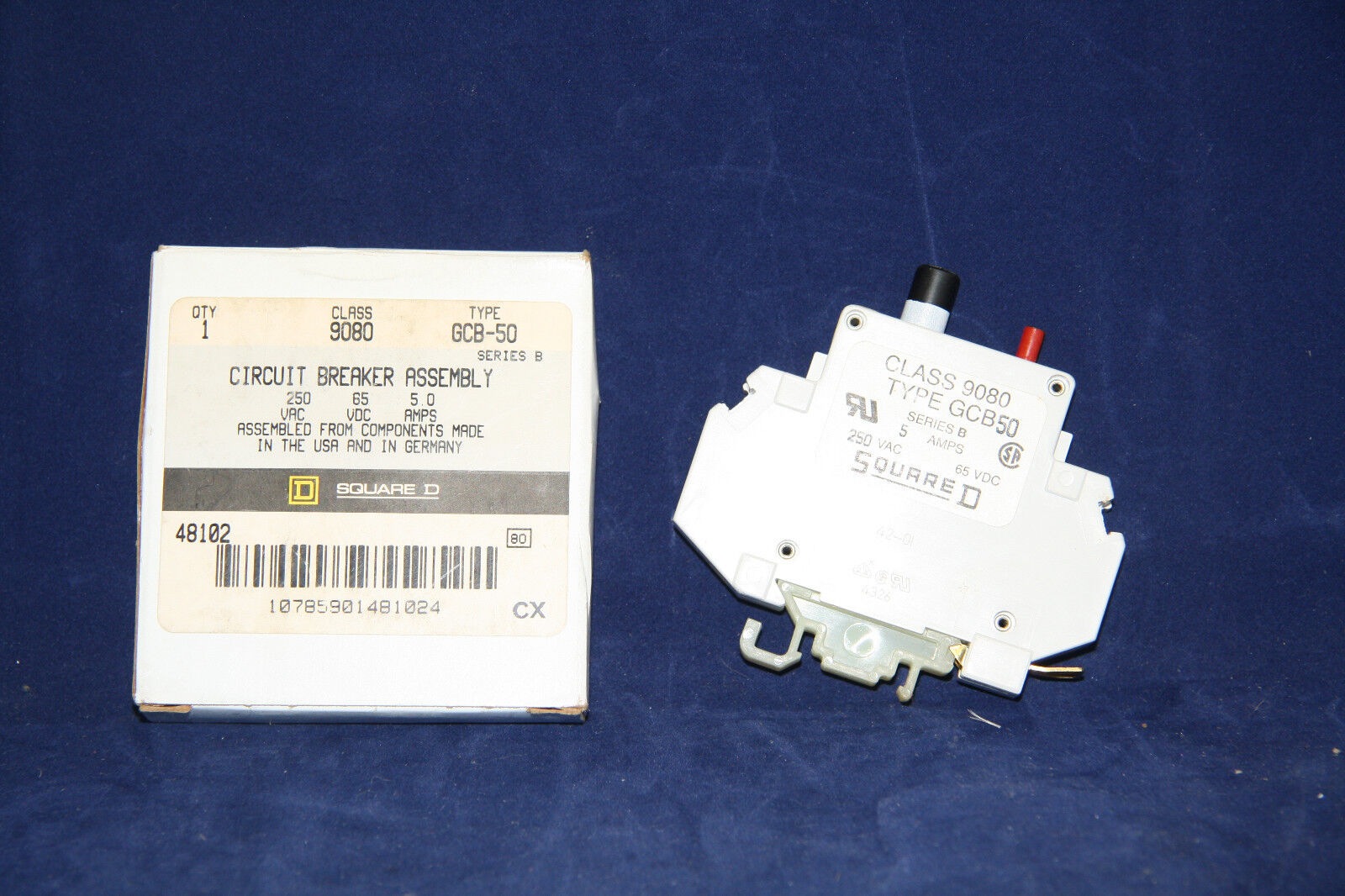 Square D Breaker Assembly Part # 9080-GCB-20