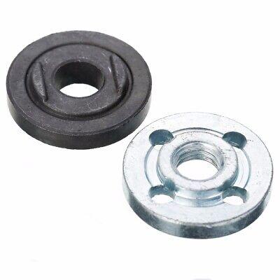 M10 Angle Grinder Flange Kit Lock Nut Inner Outer Set Fit