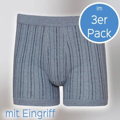 Uomo Pant con intervento 3er pack di 631//4//6-320-e Esge TG 5 a 9 Blu//Nero