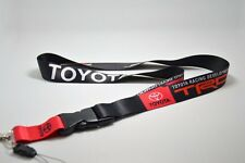 TOYOTA TRD JDM Lanyard Keychain Quick Release COROLLA TACOMA PRIUS AE86 CAMRY