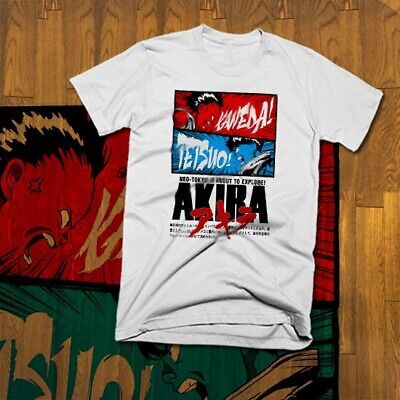 Japanese Kaneda Akira hoodie T-Shirt Neo Tokyo Vintage Cyberpunk Kanji Anime