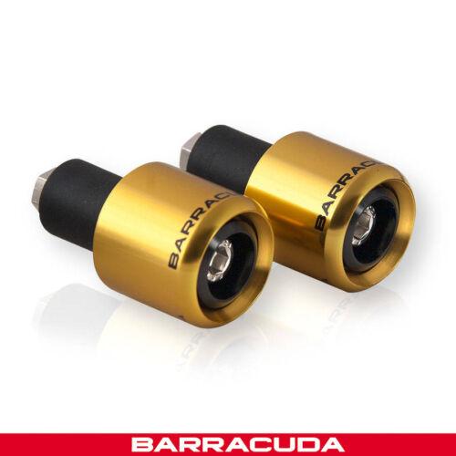Gold Suzuki GSX-S1000 Barracuda Bar Ends Universal Fit