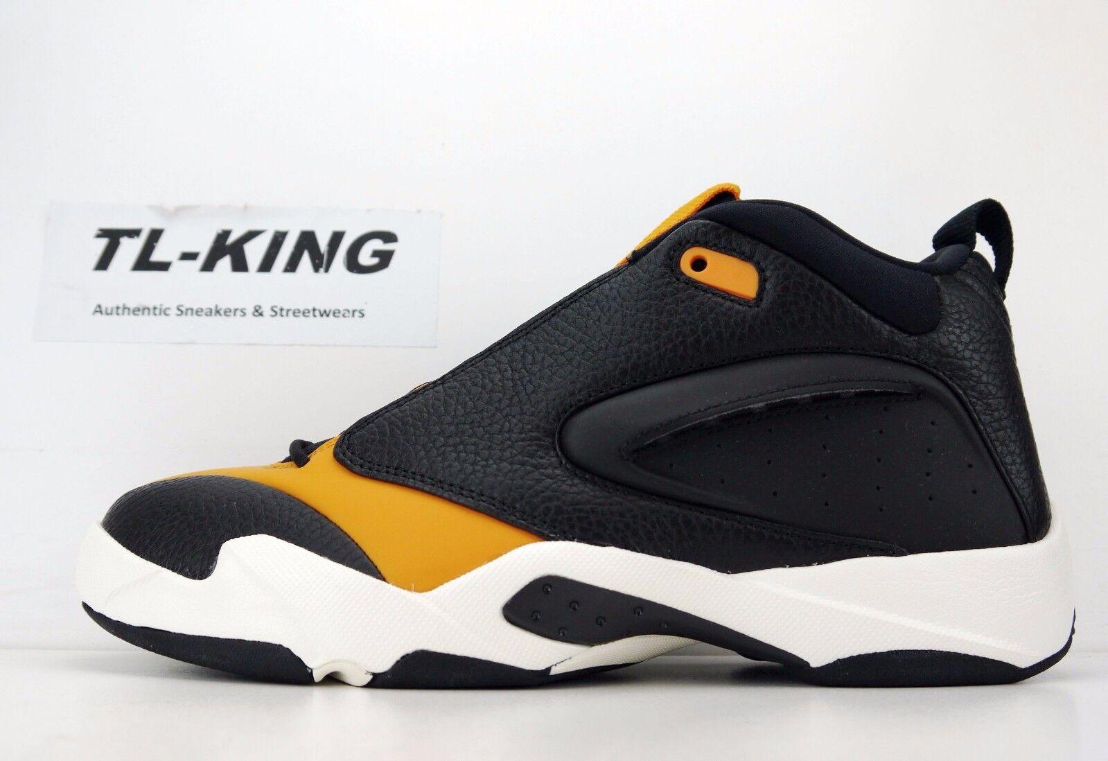Nike Air Jordan Jumpman Quick 23 Black orange Peel Sail AH8109-008 Msrp  125 CO