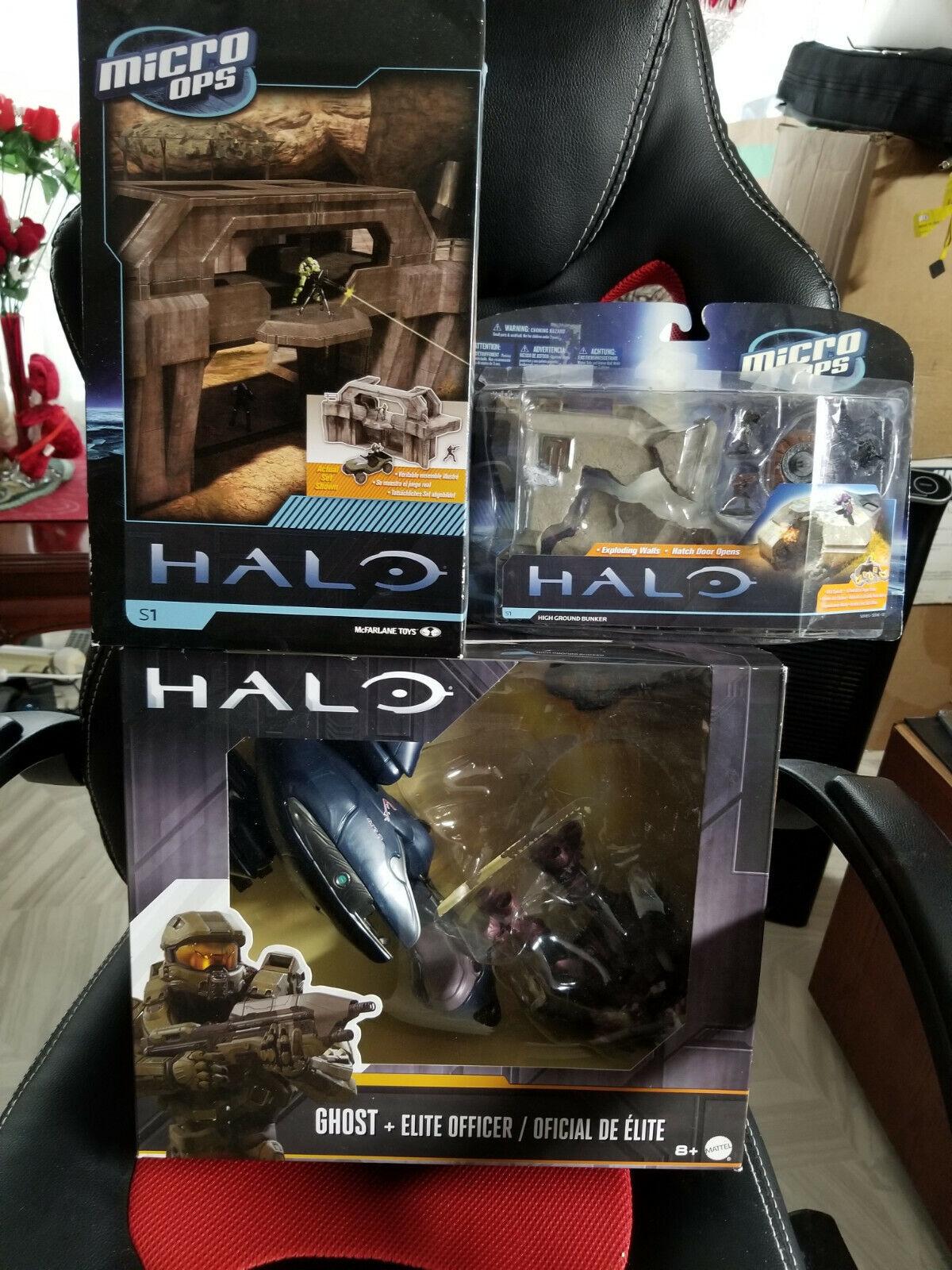 Sellado Raro Halo Ghost + Elite Oficial con 2 Bonus Halo Micro Ops