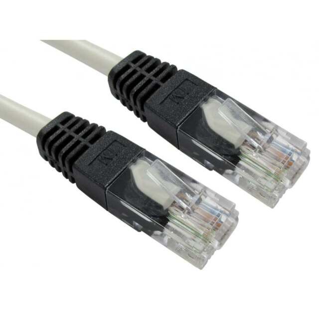 extra long 30m crossover cat5e lan network patch ethernet cable lead rh ebay co uk