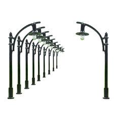 L310 10pcs Model Railway Lamppost lamp HO N 5.5cm 12v