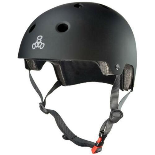 All Black Triple 8 Brainsaver Helmet