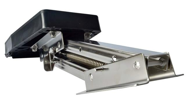 Heavy Duty Stainless Steel Auxiliary Outboard Motor Bracket up to 10 Hp 2 Stroke