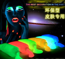 10 ColorS Luminous Body painting Halloween Party Glowing Face Paint Makeup Set