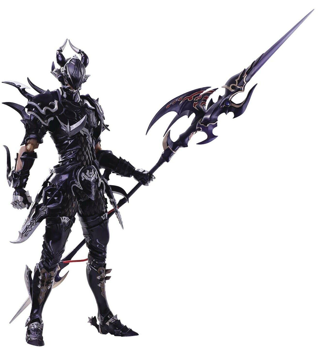 Final Fantasy XIV traer Artes estinien el Azure Dragón Figura De Acción