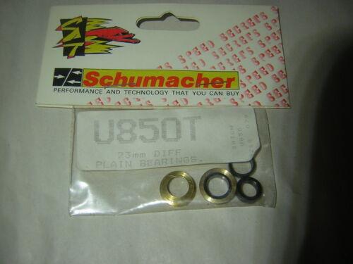 Schumacher U850T 23mm Diff plain bearing  COUGAR 2 rc part vintage