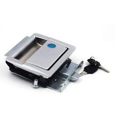 Door Lock For Storage RV Paddle Latch Handle Knob Deadbolt Camper Trailer Kit