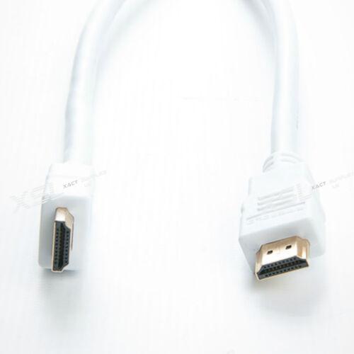 Sky HDTV 1 Sich 10m Weiß HDMI 1280p High Speed Kabel für CCTV PS4 PS3 LCD