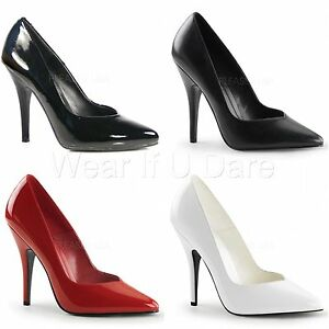 PLEASER-SEDUCE-420V-HIGH-HEEL-CLASSIC-STILETTO-HEEL-COURT-SHOES