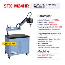 M4 M20 Electric Tapping Machine Tapper Universal 360 Degree High Speed 550rpm