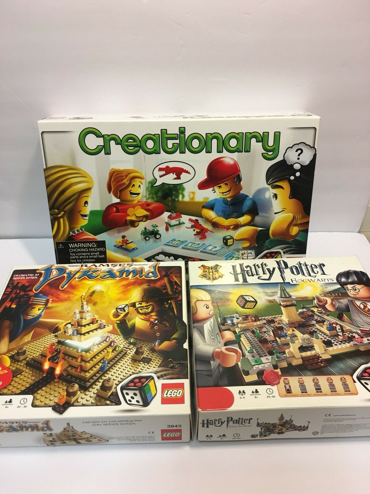 Lego Harry Potter Creationary y Ramses Pirámide 3843 3844 3862