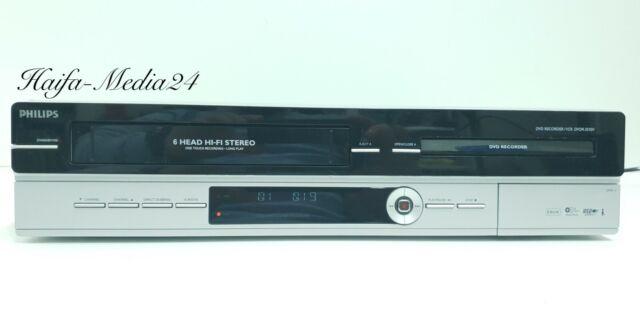 Philips DVDR3510V DVD Recorder / VHS Videorecorder ohne FB 12 Monate Gewährl