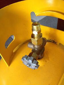 "BBQ LPG Gasmate Adapter 3//8/"" LH BSP POL"