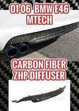CARBON FIBER BMW M-SERIES E46 M-TECH II ZHP DIFFUSER REPLACEMENT