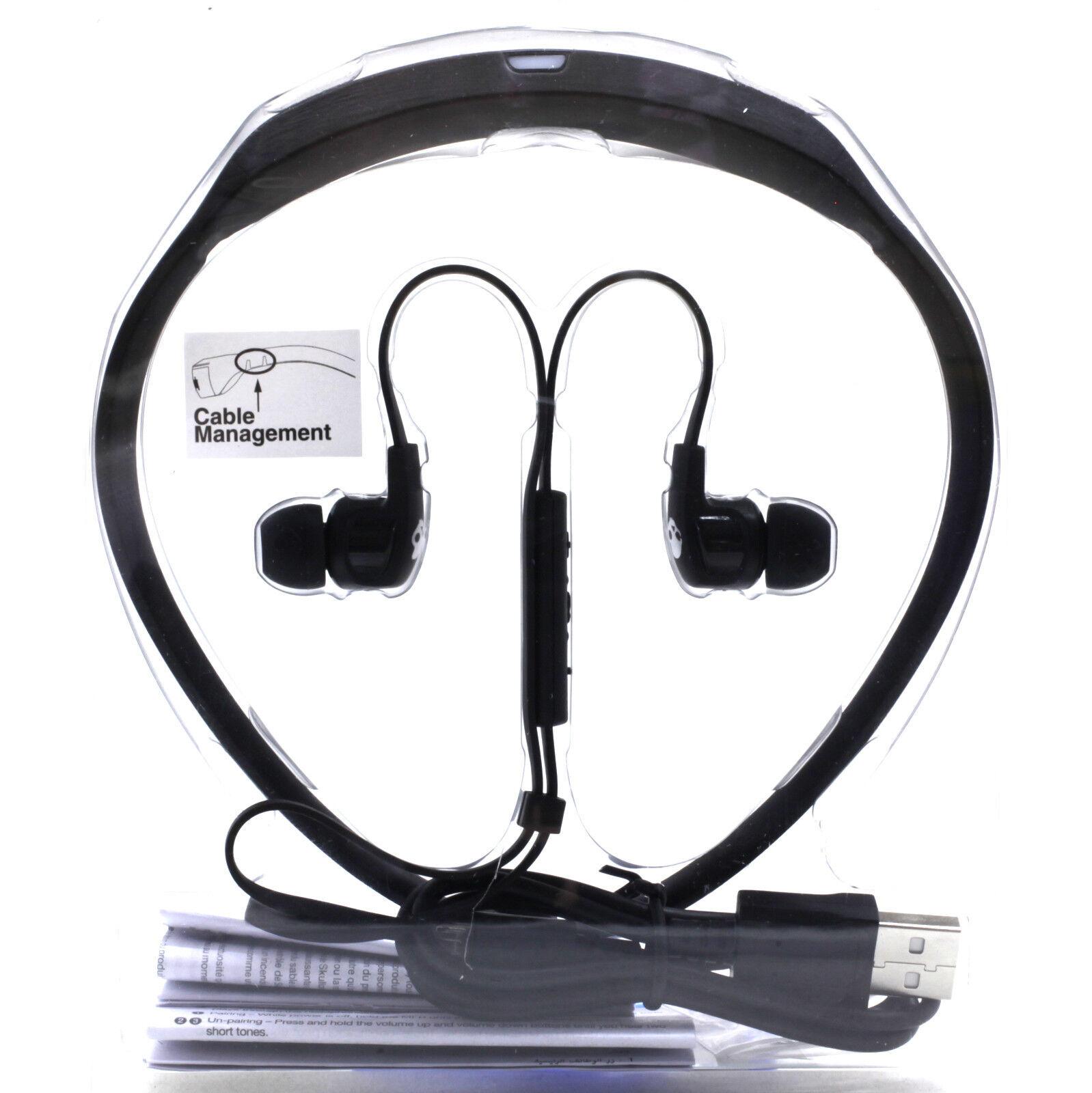 Skullcandy Smokin Buds 2 Bluetooth Wireless In-ear Earbuds Black for ... 0d1990374d779