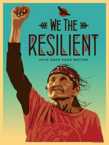 36 27x40in Art Print F-534 We The Resilient New Anti Trump Protest Hot Poster