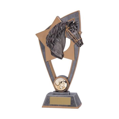 Cheval Trophy Award en 3 tailles avec Gravure Gratuite jusqu/'à 30 lettres