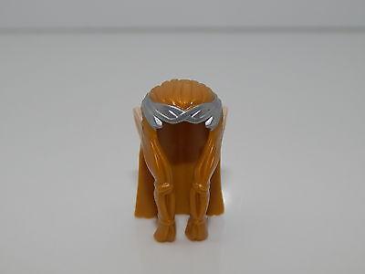 Hair Long Straight with Light Flesh Elf Ears HP#99 Lego Dark Orange Minifig