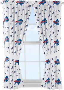 NFL Denver Broncos Anthem Window Curtain Panels For Sale Online