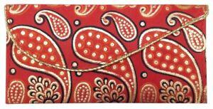 Indian-Purse-Ladies-Envelope-Clutch-Bag-Gift-Silk-Shagun-Wedding-SS1941R
