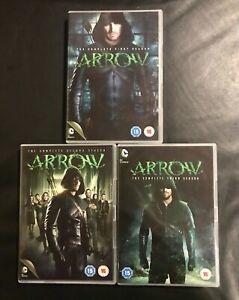 COFFRETS DVD SERIE FANTASTIQUE ACTION : ARROW SAISONS 1 A 3 COMPLET - DC COMICS