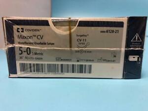 Covidien-Maxon-CV-Monofile-resorbierbares-Nahtmaterial-REF-6128-21-x