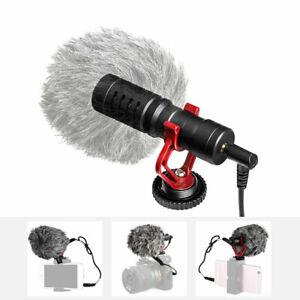 For-DSLR-Camera-Samsung-Phone-BOYA-BY-MM1-3-5mm-Microphone-Pocket-Video-Mic