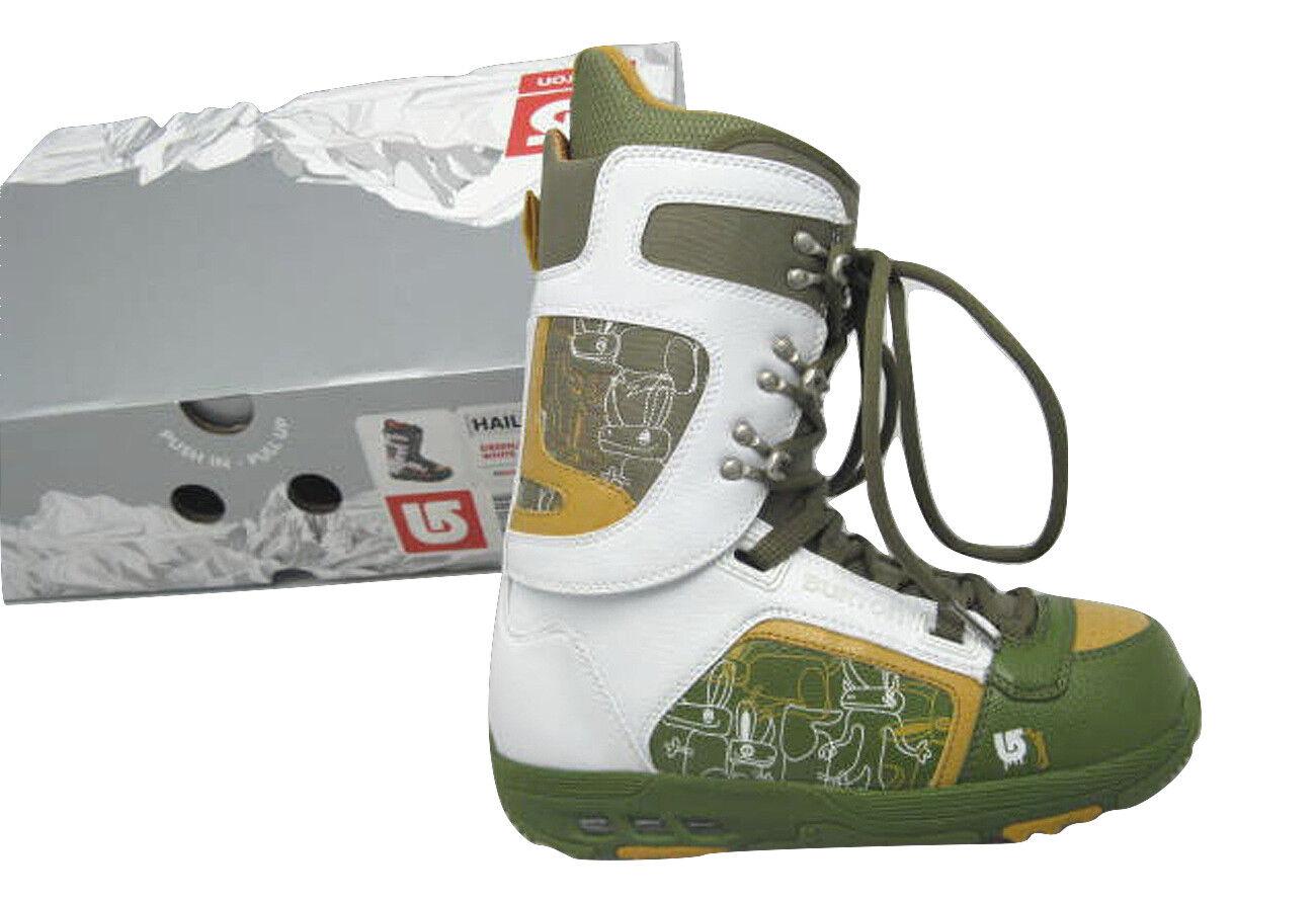 NEW Burton Hail Snowboard Boots   US 7.5 Mondo 25.5 Euro 40.5  GREEN